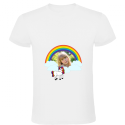 Personalized white t-shit