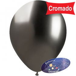 33cm Chrome Grey Balloon