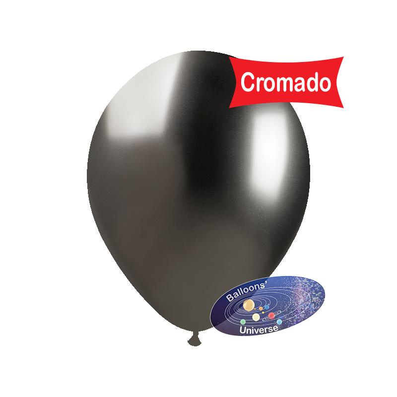 33cm Chrome Grey Balloon