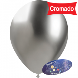 33cm Chrome Silver Balloon