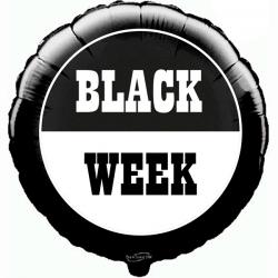 45cm Black Week Balloon