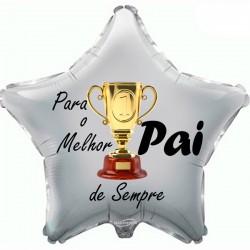 48cm Balloon Melhor Pai de Sempre Trophy