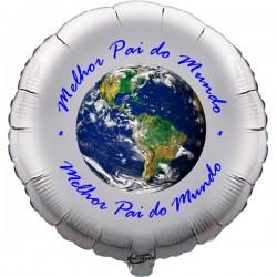 45cm Melhor Pai do Mundo Balloon