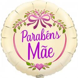 45cm Parabéns Mãe Ivory Balloon