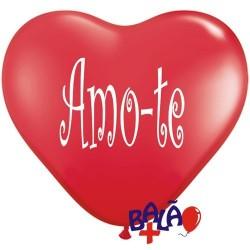 Balão Coração 30cm Amo-te