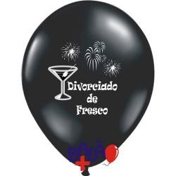 Balão 30cm Divorciado de...