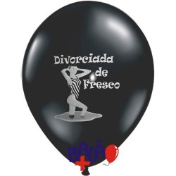 30cm Divorciada de Fresco Balloon