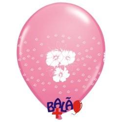 Balão 30cm Flores