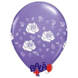 Balão 30cm Rosas