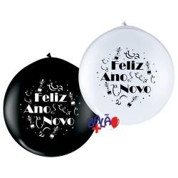 Balão Gigante 90cm Feliz...