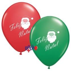 Balão 30cm Feliz Natal