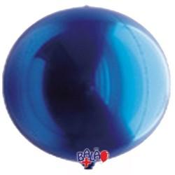 Balão Espelho de 40cm Azul
