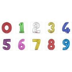 Balão Foil Número de 14''