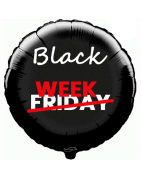 Balloons for sales, promotions, discounts and price campaigns