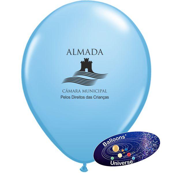 Balão Azul Céu personalizado